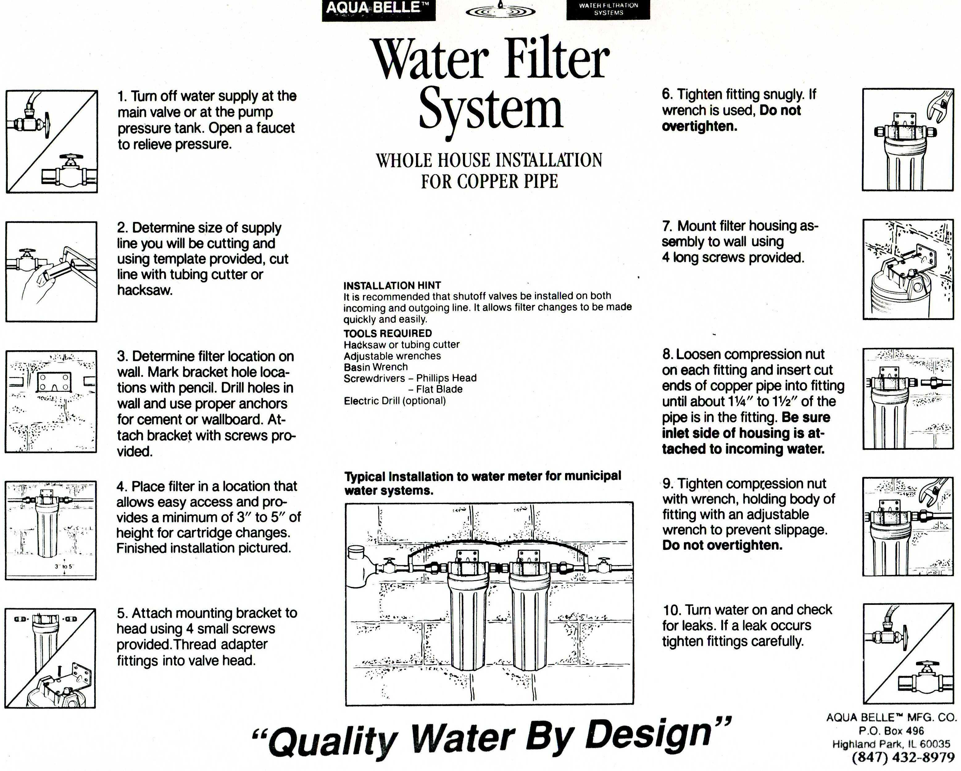 House Water Filter Whole House Water Filter Double Unit 20 W40l F40s 20 F40l 20
